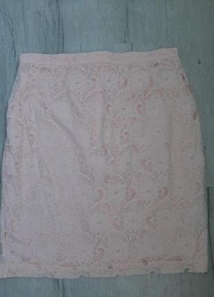 Стильная женская юбка кружево