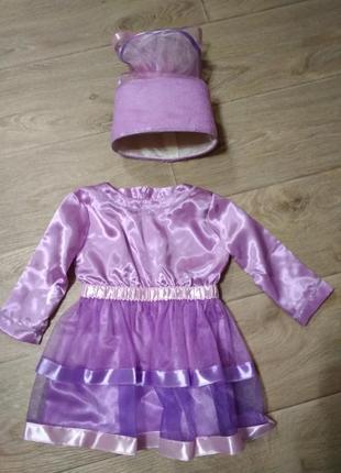 Детское платье на новогодний утренник