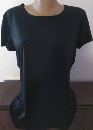 Чёрная чорна футболка терранова