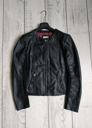 Кожаная куртка esprit pp 40 l