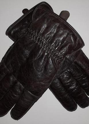 Next кожаные перчатки