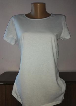 Белая біла футболка терранова