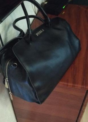 Шикарна шкіряна сумка