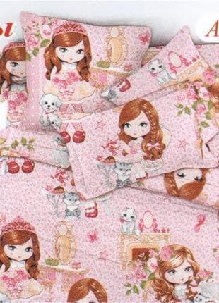 Детское постельное белье тиротекс для девочки