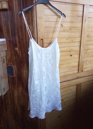 Натурнальна шовкова нічна сорочка