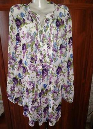 Супер блузочка в цветы