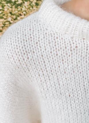 Невероятно тёплый свитер ручной работы ❤️