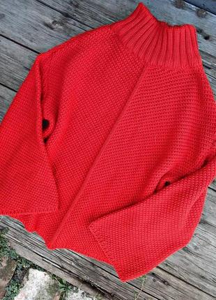 Яркий оверсайз свитер pull&bear