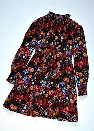 Next. хлопковое платье в цветочный принт . 3-4 года. рост 104 см