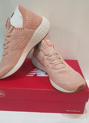Кроссовки new balance cruz sock fit v2 fresh foam pink