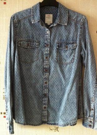 Стильная джинсовая рубашка s.oliver