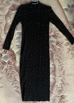 Платье трикотаж zara