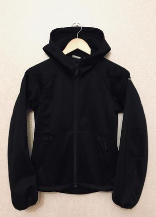 Стильная фирменная толстовка куртка ветровка спортивная кофта на флисе