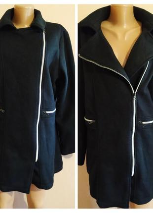 Флисовая куртка-косуха от la redoute большого размера, uk-18/20