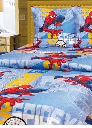Постельное белье человек паук spiderman