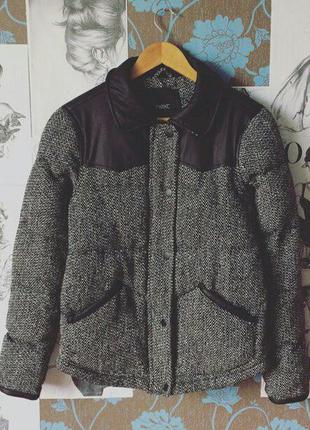 Крутая зимняя курточка р.10(с-м). next