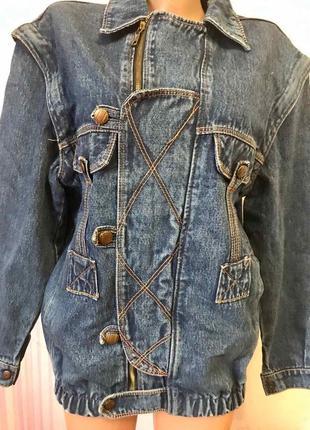 Джинсовая куртка-трансформер