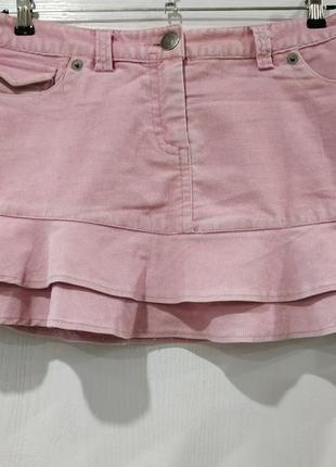 Стильная вельветовая юбка