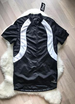Спортивная длинная футболка с карманами crivit