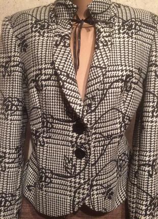 Пиджак шерсть 80%