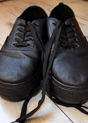 Туфли па платформе