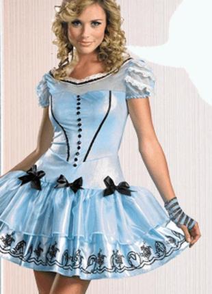 Карнавальное платье алиса в стране чудес
