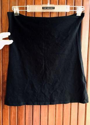 Обтягивающая мини юбка