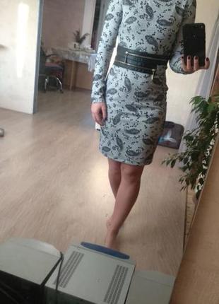 Осеннее платье