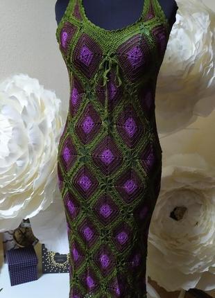 Платье в стиое бохо