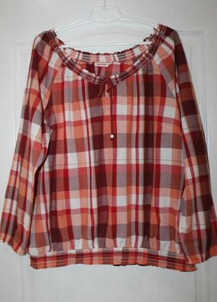 Удобная натуральная блузка