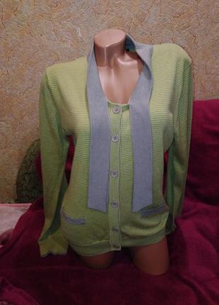 Распродажа вещей!!! супер классный свитер/кардиган, 42-48р.