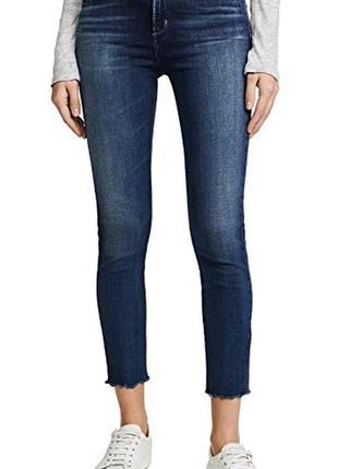 Обрезанные джинсы mother perfect jeans 25р