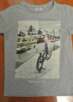 Стильная футболка с рисунком на мальчика