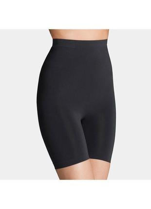 Бесшовные трусики высокие утягивающие шорты панталоны корректирующее белье h&m /размер м