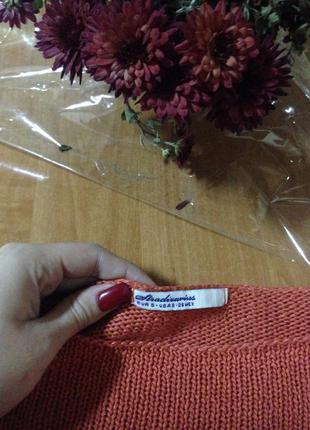 Яркий свитер stradivarius