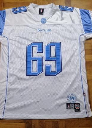Джерси brooklyn 69, нфл футболка, футболка американский футболл