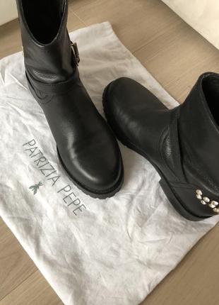 Продам брендовые ботинки patrizia pepe