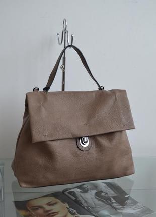 Сумка женская портфель светлая phil италия s00-0867
