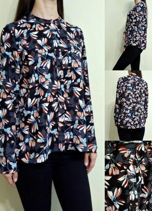 Лёгкая блуза с длинными рукавами 12