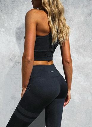 Костюм топ+лосины для фитнеса тренировок йоги