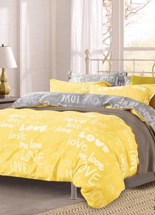 Комплект постельного белья вилюта 17148 желтый ранфорс