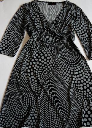 Платье миди  48  размер офисное футляр бюстье осеннее нарядное с рукавом