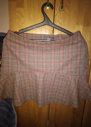 Теплая юбка,в составе шерсть,primark