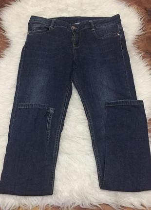 Синие базовые джинсы