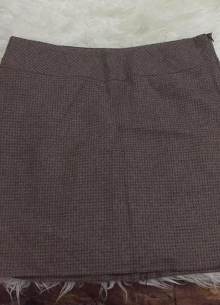 Классическая офисная базовая юбка