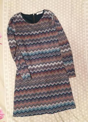 Платье на длинной рукав formula xs-s