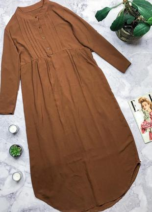 Длинное платье рубашка