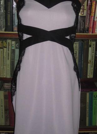 Элегантное фирменное платье большого размера. франция