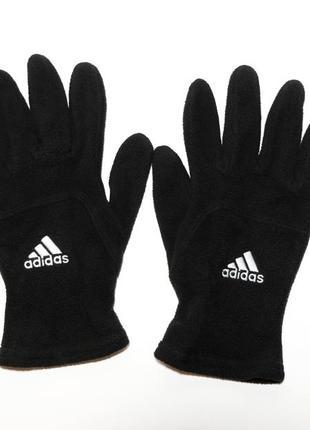 Флисовые перчатки adidas