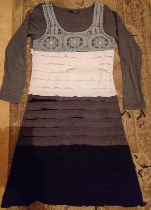 Платье елочкой
